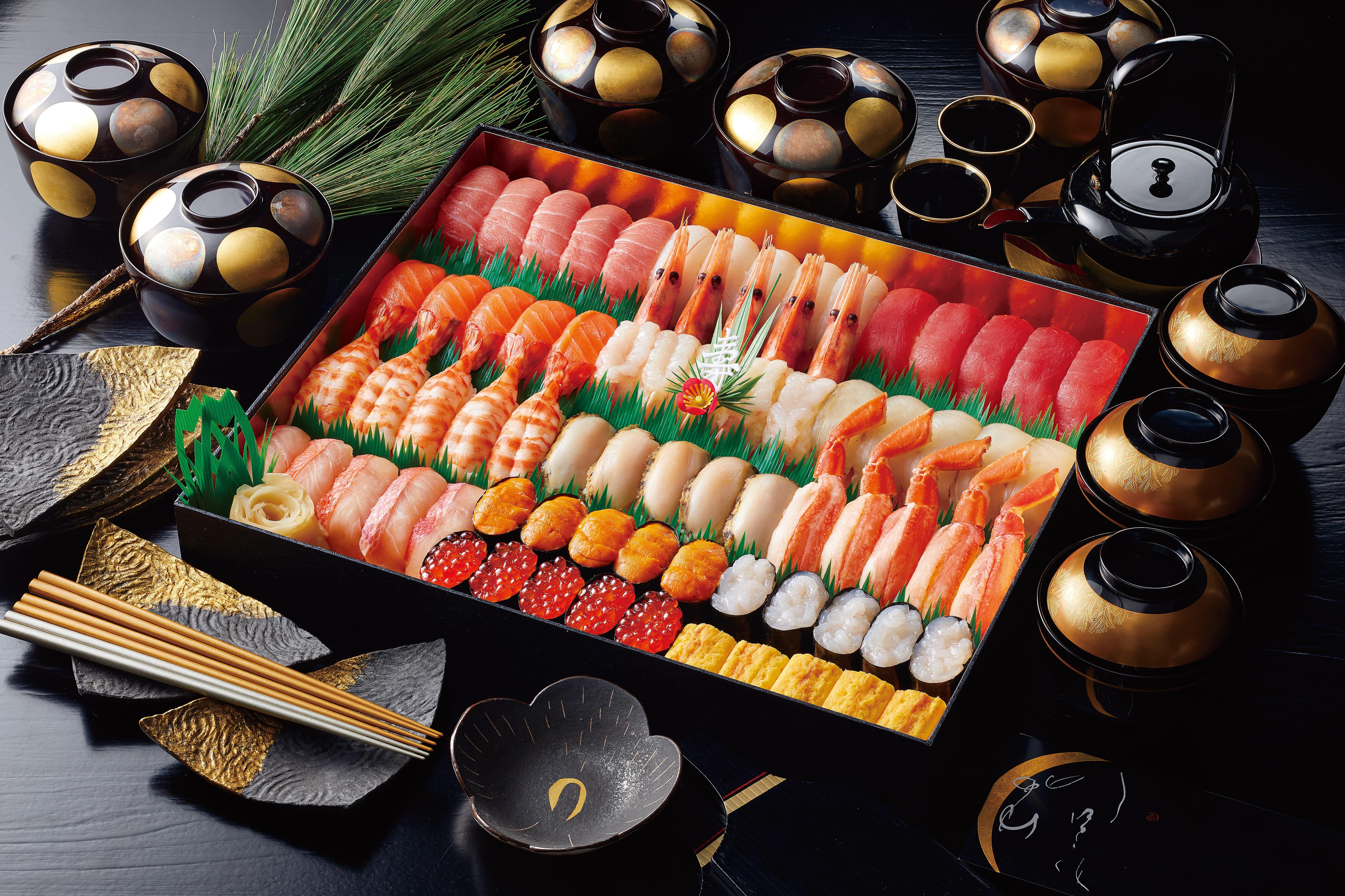 宅配寿司 銀のさら | 年末年始限定のスペシャル商品 「寿」・「吟」2021年10月5日(火)~予約受付スタート! 対象商品をご注文で、お得なデリポイントキャンペーンも実施